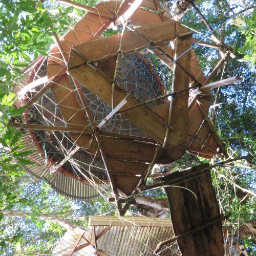 Cabane suspendue