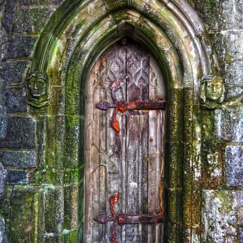 St Conan's Kirk Door