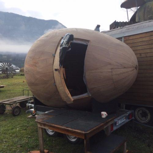 sauna oeuf